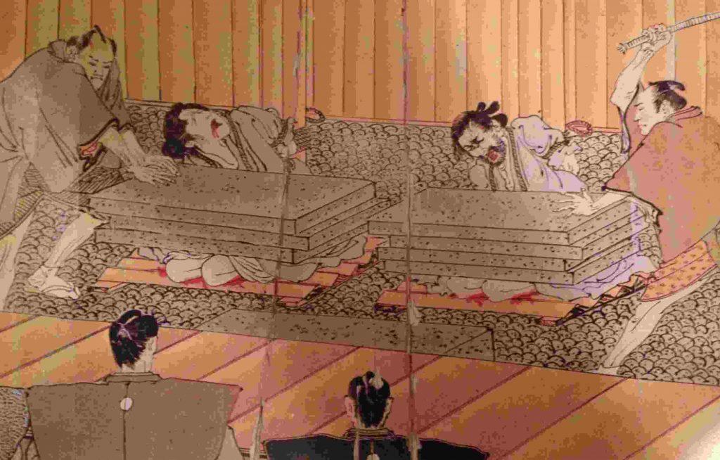 Ishidaki shibari torture
